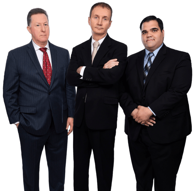 Three man professionals in their business attire